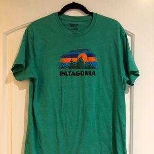 Green Patagonia Tee